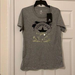 T Shirt Converse Gold All Star Logo